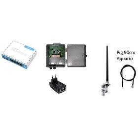 Kit Provedor 12 Dbi 1000mw Antena Omni 12 + Rb941 Mikrotik
