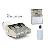 Datador De Embalagens Plásticas + Almofada E Tinta