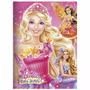 Tema Barbie - Papel Arroz Para Topo De Bolo.frete R$ 10,80