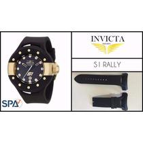 Pulseira Relógio Invicta S1 Rally 6493, 17386, Nova - Preta