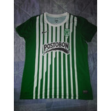 Camiseta Futbol Atletico Nacional Mujer Original!!! Colombia