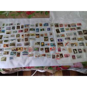 Selos 120 Internacionais Todos Os Tipos