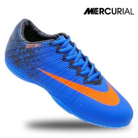 Chuteira Nike Mercurial Futsal Quadra Cr7 Solado Costurado