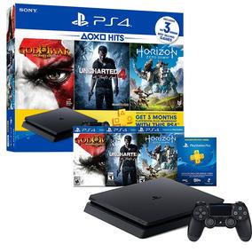 Ps4 Slim Consola Play Station 4 Slim Hits Bundle + 3 Juegos