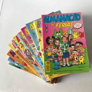Almanacão E Almanacão De Férias Turma Da Mônica