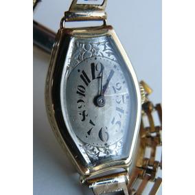 Reloj Rolex Antiguo En Oro Solido 18k Suizo Cuerda Año 1948
