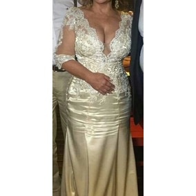 Vestido De Noiva Na Cor Pérola