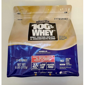 Whey Muscle Milk - 100% Whey - Proteina Concentrada