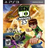 Jogo Novo Lacrado Ben 10 Omniverse 2 Para Playstation 3
