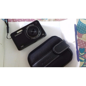 Câmera Digital Dv100 Sansung 16.1mp C/5x Zoom Lcd 2.7 Preta