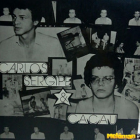 Carlos Sergipe E Cacau 1980 Vela Branca Compacto Folk