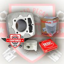 Cilindro Motor P Honda Nx/cbx/xr 200 C/pistão Crf 230 66,5mm