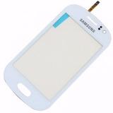 Tela Vidro Touchscreen Samsung S6810 Galaxy Fame Duos Branco