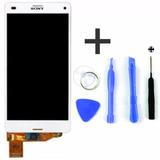 Display Branco Sony Xperia Z3 Compact + Jogo De Feramentas