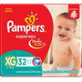96 Pañales Pampers Supersec Talle Xg