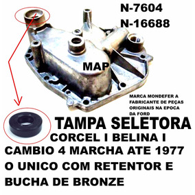 Tampa Seletora Cambio 4 Marchas Corcel I Belina I Ate 1977