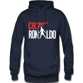 Sudadera Cristiano Ronaldo Cr7 Hoodie Capucha Con Cangurera