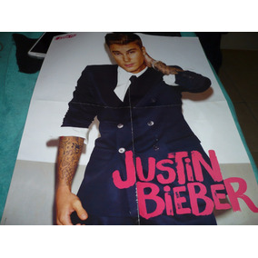 Mini Poster Justin Bieber Revista Capricho -top
