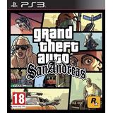 Digital Ps3 Gta: San Andreas (ps2 Classic)
