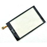 Touch Screen Digitalizador Lg Gw620 Color Negro