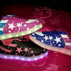 Zapatillas Con Luces Led Recargables