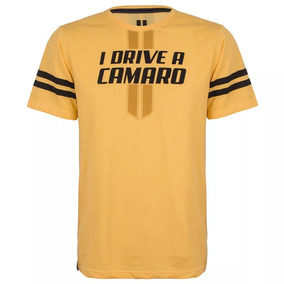 Camiseta Drive Camaro Masculina Original Gm