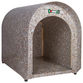Casinha Cachorro Cães Casa Reciclada Ecológica Tamanho 3