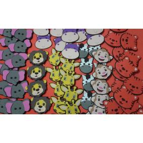 Figuras De Fomi, Foami, Fomy, Foamy (caritas 6cm)