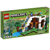 Lego Minecraft The Waterfall Base 21134 Kit De...