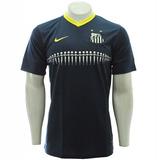 Promoção! Camisa Santos Azul Oficial 3 Nike 2013 / 2014