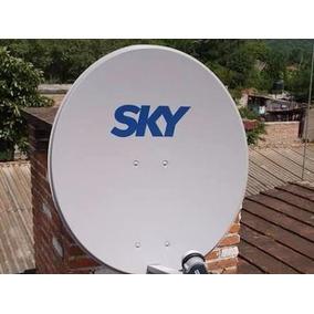 Antena Parabolica Para Fta Sky Vetv Nueva Con Lnb
