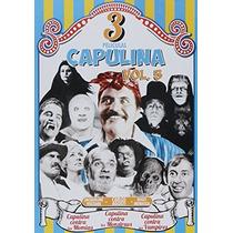 Dvd Triple Capulina Vol. 5 Contra Momias Monstruos Vampiros