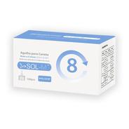 Agulha Para Caneta De Insulina 8mm 31g C/100un