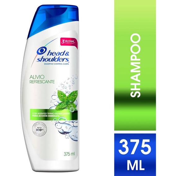 Shampoo Head & Shoulders Alivio Refrescante 375 Ml