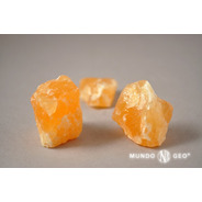 Piedra Calcita Naranja En Bruto