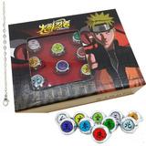 10 Anillos + Collar Envio Gratis Akatsuki Naruto Shipuden