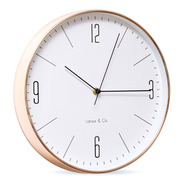 Reloj Modern Wall Clock 30cm Diametro Cobre