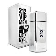 Perfume Masculino 212 Vip Men Eau De Toilette 100ml