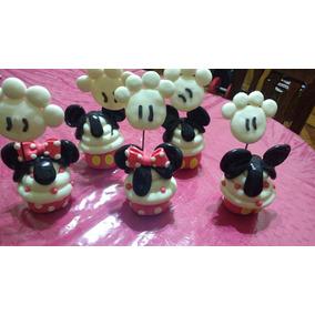 Centro De Mesa Minnie Y Mickey Mouse 15 Cm De Alto