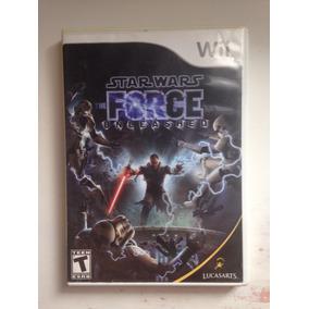 Star Wars Force Unleashed 1 E 2 Nintendo Wii Frete Grat $199