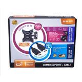 Soporte Para Tv Bsav3277 + Cable Hdmi 13 A 43