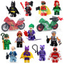 12 Minifigures + 2 Motos Batman Filme 2017 Lego Compatível