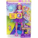 Barbie Aventura Videojuegos Patinadora Bella Luces Sonido.