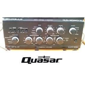 Quadro 20x30 + Foto Digital Do Amplificador Quasar Qa-8080x