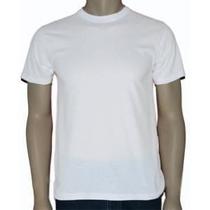 10 Camisas Brancas- Para Sublimação 100% Poliester