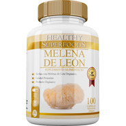 Hongo Melena De León (lions Mane)orgánic 100 Capsulas 500mg