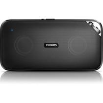 Caixa De Som Philips Bt3500b Bluetooth Sem Fio Preta Bt3500