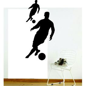 Adesivo De Parede Quarto Sala Esporte Futebol Gol Bola 596522cfee0b4
