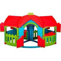 Casinha Infantil Casa De Criança Bebe Deluxe Barraca Cabana