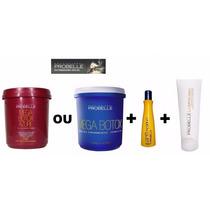 Mega Botox + Shampoo Antiresiduo + Leave In Frete Grátis